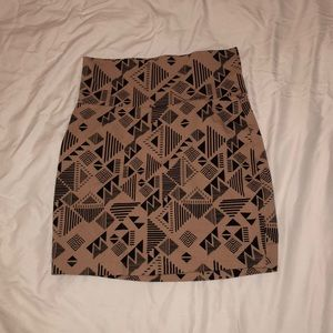 Small Pencil Skirt, light pink/beige